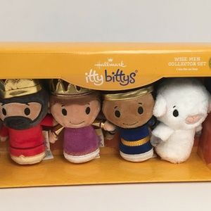 Nativity Wise Men Itty Bittys Collector Set New